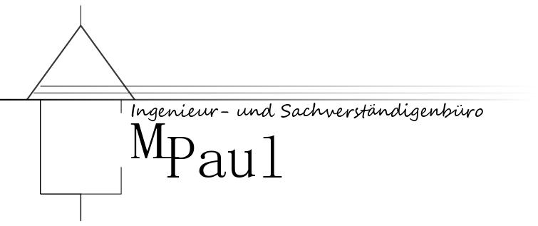 Ingenieur- und Sachverständigenbüro Martin Paul